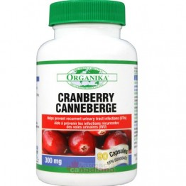 Extract Concentrat de CRANBERRY 300 mg 90 capsule
