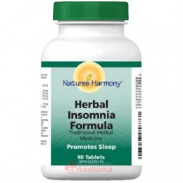 HERBAL INSOMNIA 90 Tablete - Somnifer Natural