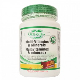 SUPER MULTI VITAMINE, MINERALE SI NUTRIENTI 120 tablete