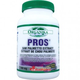 PROS Saw Palmetto 98%:160 mg 60 capsule - Intretinere Prostata