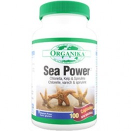 SEA POWER Complex din Alge 500 mg 100 capsule