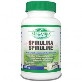 SPIRULINA 100% pura 500 mg 100 tablete