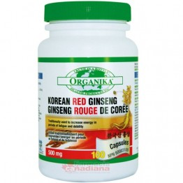 GINSENG ROSU COREAN Forte 500mg 100cps