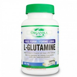 L-GLUTAMINA Amino-Acid: 500mg/90 Capsule