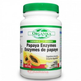 Enzime din Papaya 90 tablete masticabile