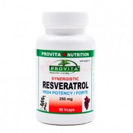 RESVERATROL Forte Synergistic 250 mg 90 Vcaps